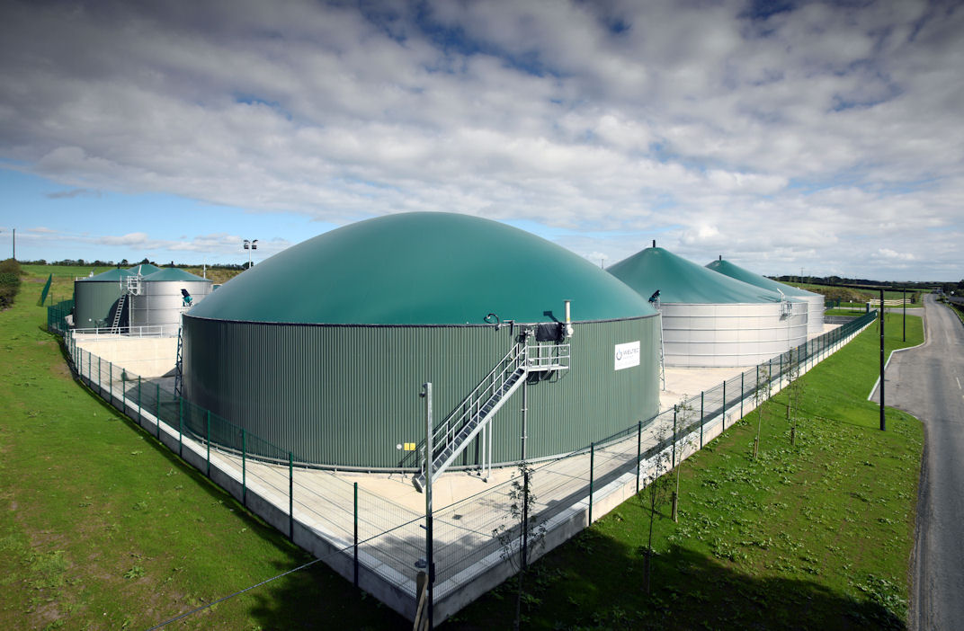 WELTEC BIOPOWER Represented with Biogas Plants on Five